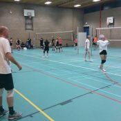 Sponsor volleybaltoernooi in De Bolder