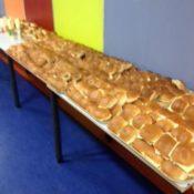 Lunch voor 170 personen in De Bolder in foto's