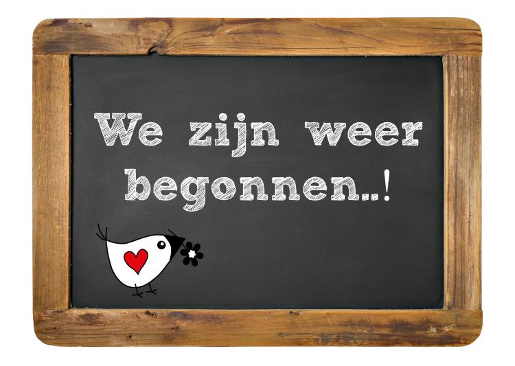 We-zijn-weer-begonnen | MFC de Bolder Zwolle